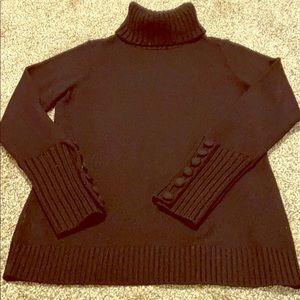Banana Republic turtleneck sweater in L tall